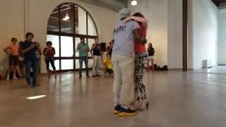 Bobby Simon at KIFE(Trieste) kizomba demo after the class!