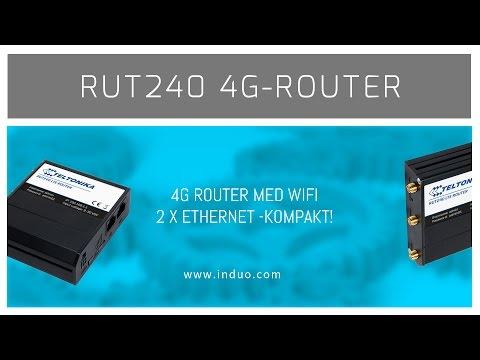 Teltonika RUT240 -kompakt 4G router för M2M