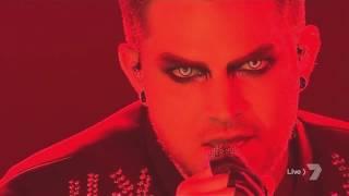 Adam Lambert's performance of 'Evil In The Night'  HD @ The X Factor AU