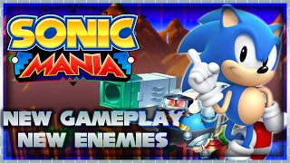 Sonic Mania |  Green Hill Zone Act 2, Hard Boiled Heavies, New Gameplay, and New Enemies
