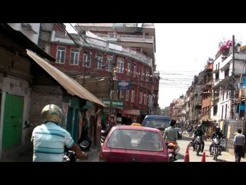 SANY0653.MP4 2011/04/06 To Thamel by Taxi