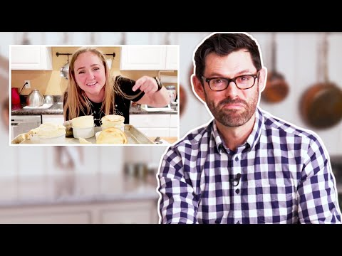 Professional Baker Reacts To Fluffy Pancake, Macaron, And Soufflé Baking Fails