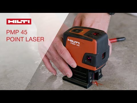 OVERVIEW of Hilti's PMP 45 compact five-point laser