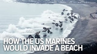 How the US Marines would invade a beach today