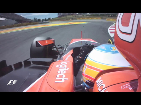 2017 Spanish Grand Prix: Fernando Alonso's Q3 Lap