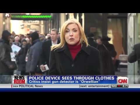 NYPD & DOD Working On Portable X-Ray Machine To Scan Citizens Walking Around The City