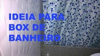 IDEIA PARA BOX DE BANHEIRO
