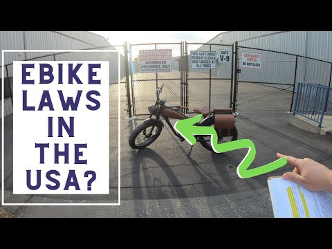US Electric Bike Laws Explained