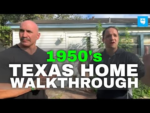 1950's Texas Investment Property Walkthrough with Mat Trenchard and Steve Rozenberg