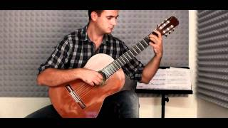 Dances with Wolves soundtrack - classical guitar cover