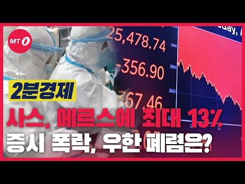 [2분경제] 사스, 메르스에 최대 13% 증시폭락, 우한 폐렴은?