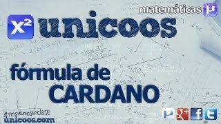 Imagen en miniatura para Fórmula de Cardano