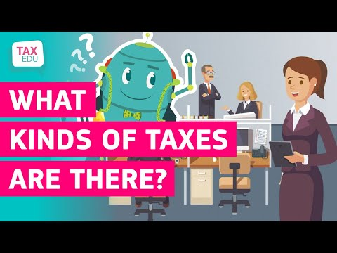 What kinds of taxes are there? photo