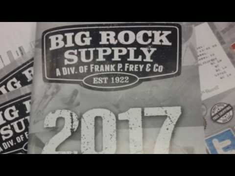 Big Rock Supply 2017 Catalogs hot off the press (literally)