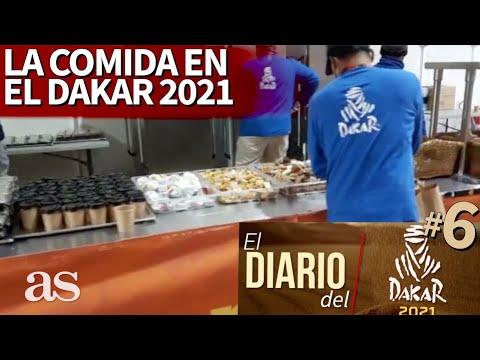 El Diario del DAKAR 2021 #6 | La comida del Dakar en los campamentos en pleno desierto | AS