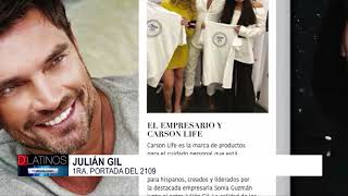Julián Gil encabeza la primera portada del 2019 de D'Latinos Magazine