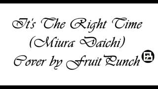 Kiseijuu: Sei no Kakuritsu ending: It's the Right Time (FruitPunchBt cover)