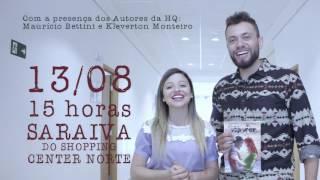 Eu Vou te Esperar - Lançamento HQ em São Paulo / SHOPPING CENTER NORTE