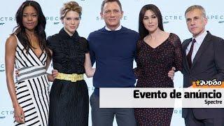 SPECTRE   Resumão do evento de anúncio (HD) Daniel Craig, Monica Bellucci
