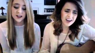 "Taylor Swift ft. The Civil Wars ""Safe & Sound"" by Megan & Liz"