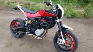 Husqvarna nuda 900 R exhaust Scorpion sound