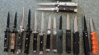 My Budget Switchblade Knives