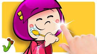♫ ♪ Jacarelvis e Amigos | Escovo os Dentes (DVD Infantil Jacarelvis e Amigos Vol. 1)
