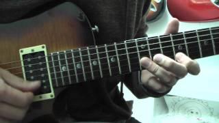 Stand -  Guitar Solo Tutorial / Richie Kotzen ( Poison )