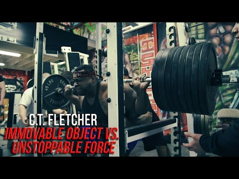 C.T. Fletcher- IMMOVABLE OBJECT VS. UNSTOPPABLE FORCE