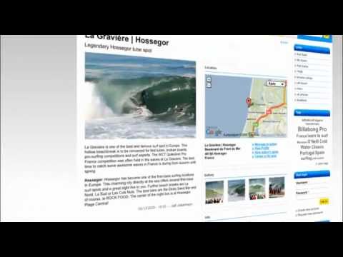 Find surf camps and spots in Europe and worldwide