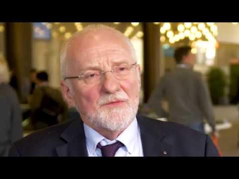 Heinz Kölking auf der MEDICA 2019 zur Europäischen Vereinigung der Krankenhausmanager (EVKM)