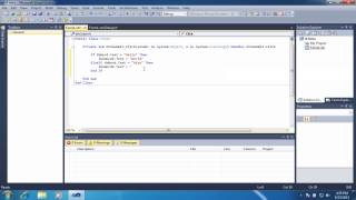 vb.net Intro to If Statements width=