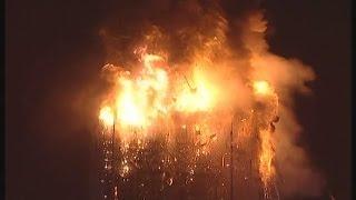 Se cumplem 10 años del incendio del edificio Windsor