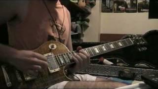 Aerosmith Crazy Solo Cover