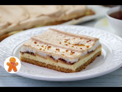 Творожный Пирог с Яблоками и Карамельными Слезами