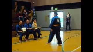 Holly Olsen of White Wolf family Martial Arts 1-7-12