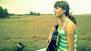 DŻEM - WHISKY (cover z gitarą na rowerze)