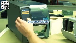 SQUIX - najnowsza przemysłowa drukarka etykiet CAB