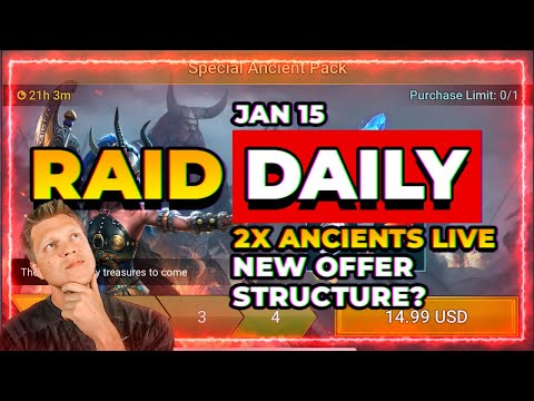 NEW OFFER STRUCTURE?! f2p Competition is LIVE! | RAID Shadow Legends