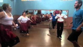 Tiro Liro Liro - coreografia