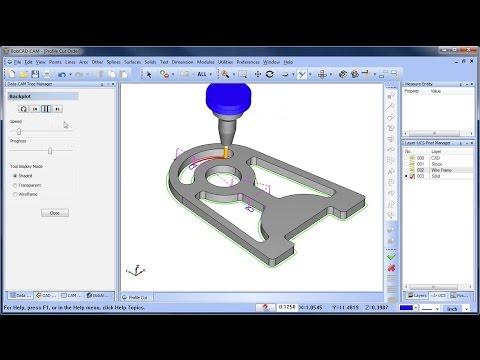 Cut Order for Profiles - BobCAD-CAM Quick Tip