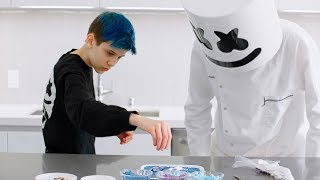 Marshmello & Sceptic Make Fortnite Loot Llama Candy | Cooking with Marshmello