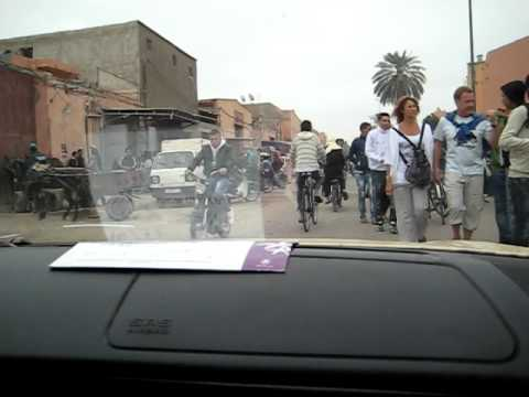 Driving in Marrakech 4