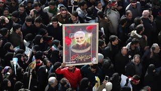 Похороны иранского генерала