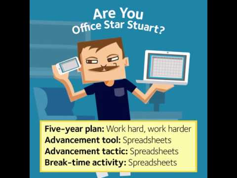 Fight Eye Fatigue: Office Star Stuart