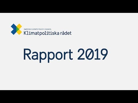Klimatpolitiska rådets rapport 2019
