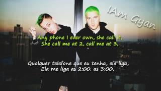 Mansionz - STFU Lyrics / Tradução PTBR (Blackbear/Mike Posner)