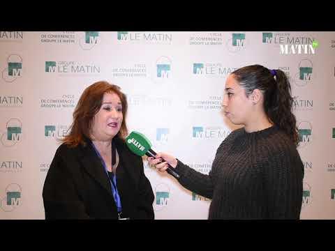 Video : Cycle de conférences du Groupe Le Matin : Déclaration de Sabah Chraibi, Présidente nationale de  ESPOD