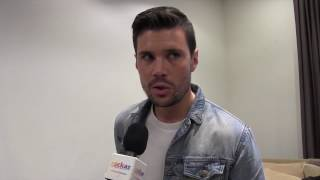 ESCKAZ in Madrid: Interview with Robin Bengtsson (Sweden) at Eurovision-Spain Pre-Party