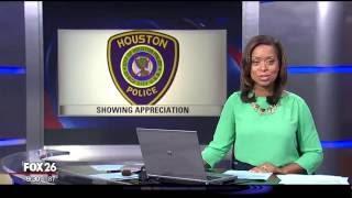 FOX26 - Belmont Village Shows Appreciation for HPD Officers